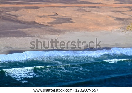 coastline of namibia #1232079667