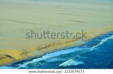 coastline of namibia #1232079673