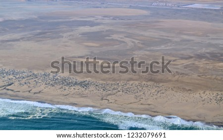 coastline of namibia #1232079691