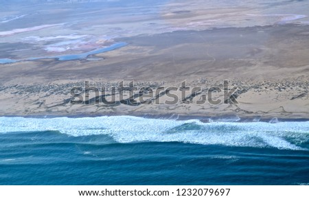 coastline of namibia #1232079697