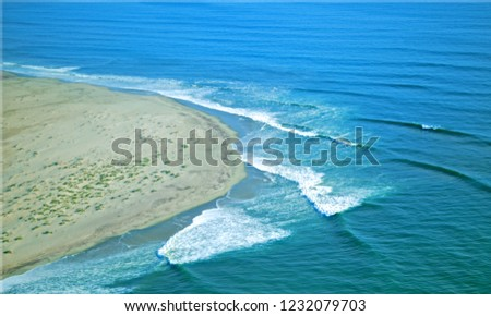 coastline of namibia #1232079703