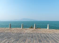 coastline of road
