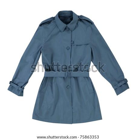 coat isolated on white
