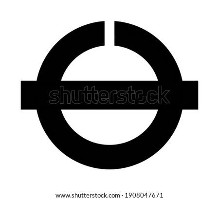Coat of arms of the city of Hatsukaichi. Hiros ima prefecture Japan  Stock fotó ©