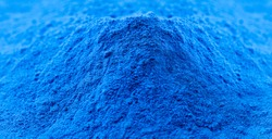cobalt oxide, blue pigment, used in the ceramic industry as an additive to create blue enamels in the chemical industry to produce cobalt salts