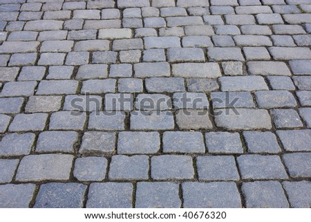 Cobblestone Path Stock Photo 40676320 Shutterstock
