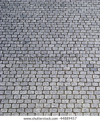 Cobblestone Surface Stock Photo 44889457 Shutterstock