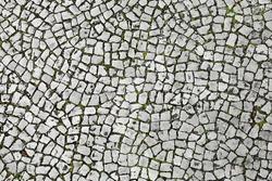 Cobblestones in Lisbon, Portugal