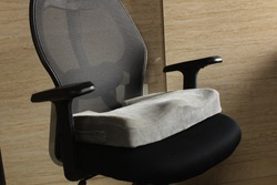 Coccyx seat cuhion in office chair