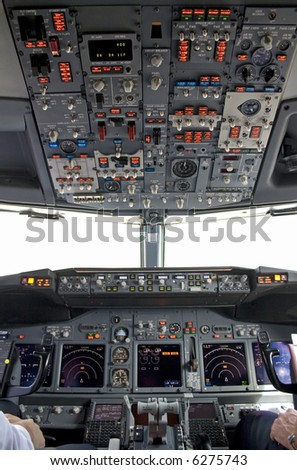 cockpit inside(the window is isolated)