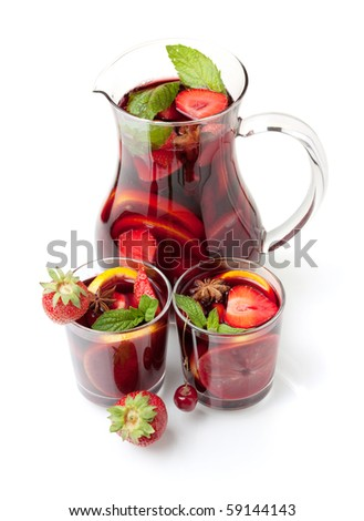 Quán Bar điểm hẹn sắc màu  - Page 3 Stock-photo-cocktail-collection-refreshing-fruit-sangria-in-jug-and-two-glasses-above-view-isolated-on-white-59144143