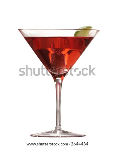 cocktail drink with white zin,cranberry juice, shaken, add a splash of chambord, serve with wedge of lime