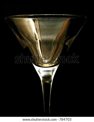Cocktail glass