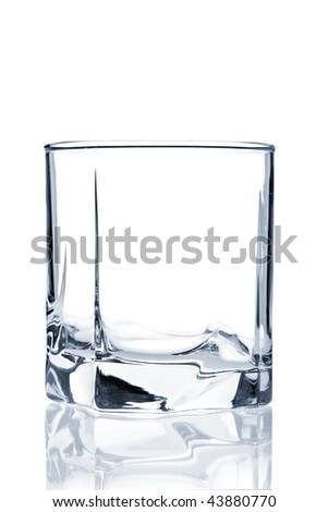 Stock photo cocktail glass collection old fashioned isolated on white