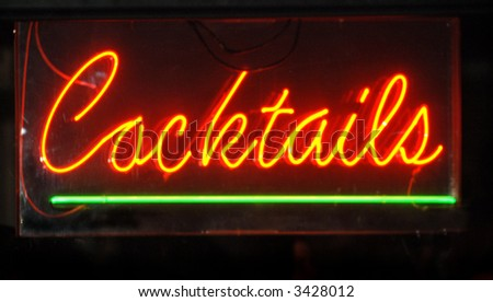 Cocktail Neon Sign