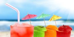 Cocktail on a beach