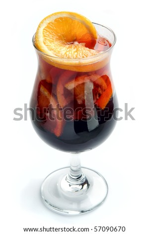 Cocktails orange