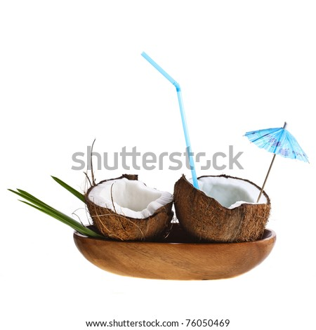 Coconut cocktail