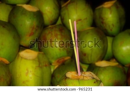 Coconut Drink Foto stock ©