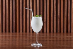 Coconut juice smoothie
