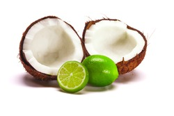 Coconut with Limes