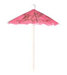Coctail Umbrella isolated on white