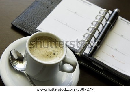 Coffee and Agenda