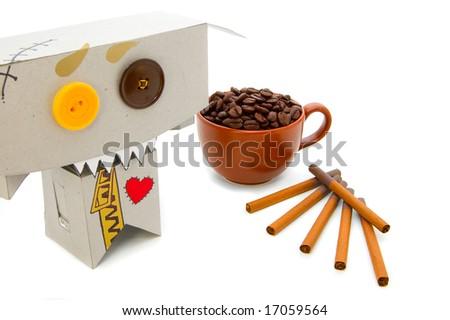 Coffee and cigarettes addict