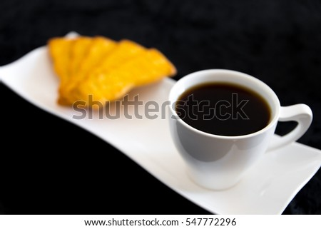 coffee and cookies #547772296