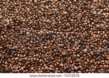 coffee background - stock photo