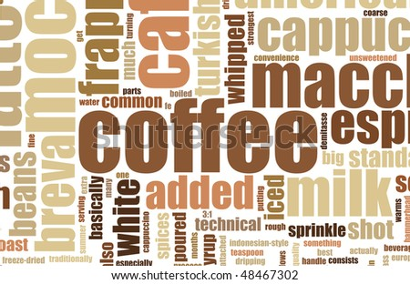 Coffee Background Modern Stylish Simple and Clean