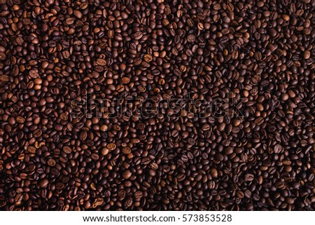 coffee beans, composition of coffee beans, coffee beans background
