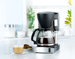 Coffee blender  and boiler machine great for makes hot drinks
