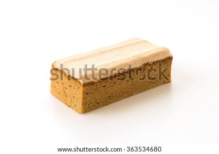 coffee cake on white background #363534680