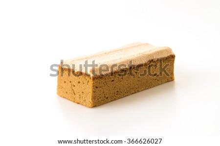 coffee cake on white background #366626027