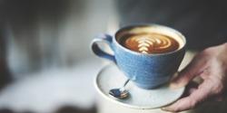 Coffee Cup Cappuccino Restaurant Coffee Shop Concept