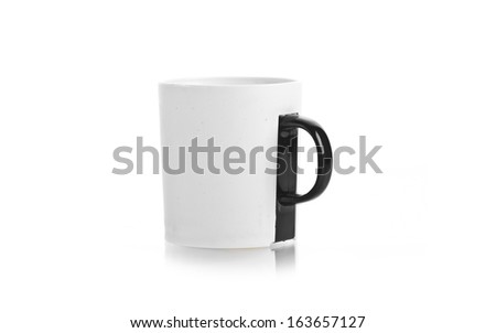 coffee cup. Isolated on white background #163657127