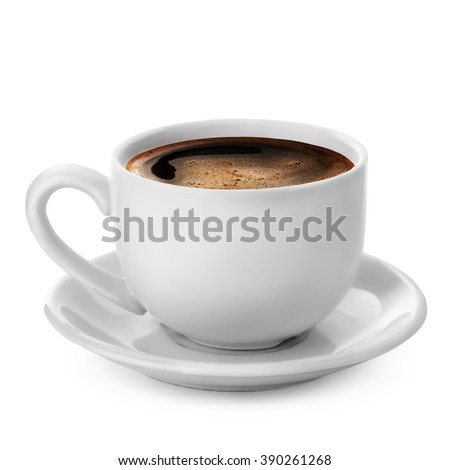 coffee cup isolated on white background #390261268