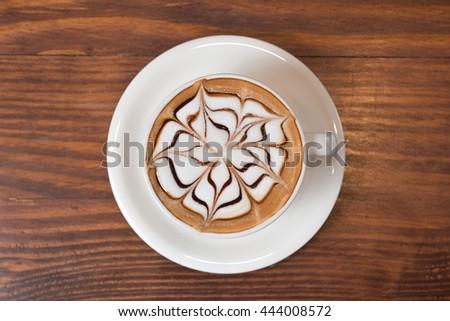 Coffee cup of Mocha  #444008572