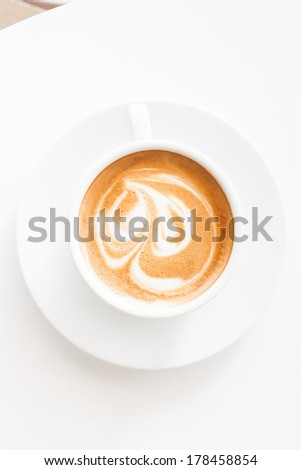 coffee cup on white background #178458854