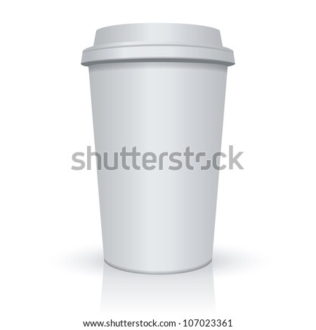Coffee Cup. Raster version, vector file id: 106486901