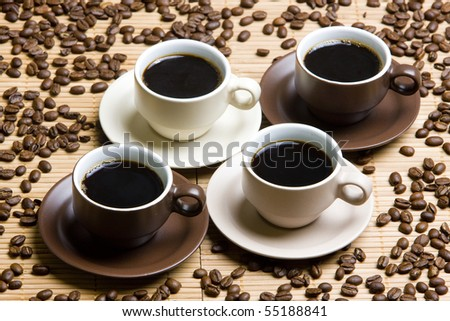 coffee cups still life