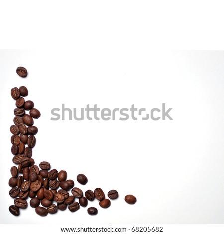 Coffee Frame - stock photo