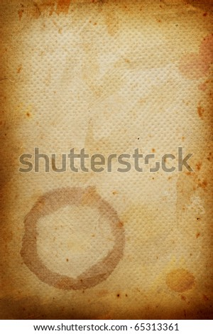 Coffee grunge background with coffee beans.