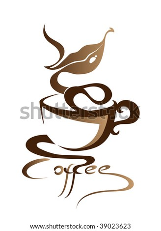 Coffee (in the gallery also available vector version of this image)