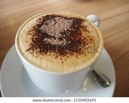 Coffee in the glass, Coffee aroma #1150402691