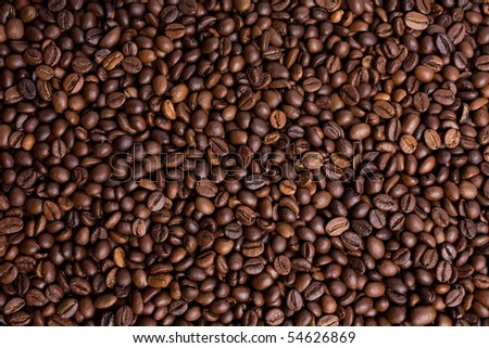 coffee isolated on white close up look
