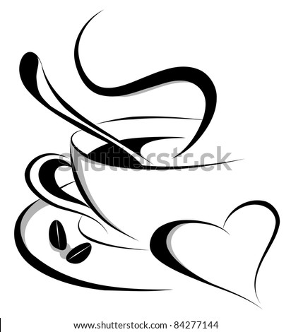 coffee love (also available vector version of this image)