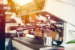 Coffee machine, Espresso maker for Barista modern lifestyle in Cafe