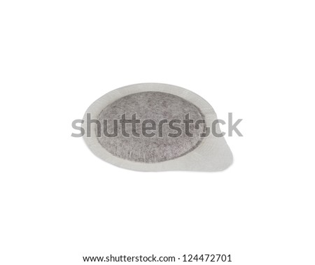 Coffee pods on white Backgrounds. Foto d'archivio ©
